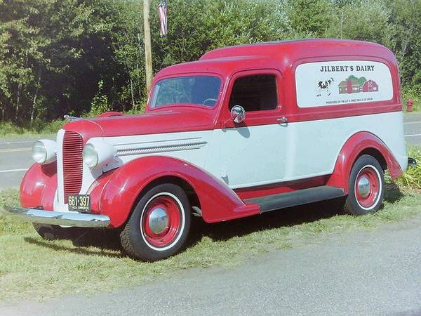 1936 Dodge Bros Humpback Delivery Wagon