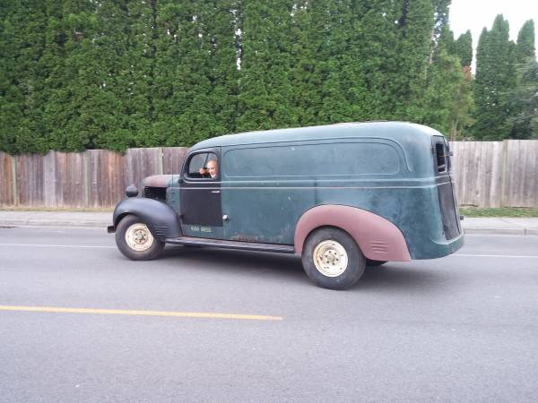 1939 Dodge 1 Ton Panel Delivery Truck