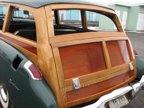 BBSS 1949 Buick Super Woodie Station Wagon